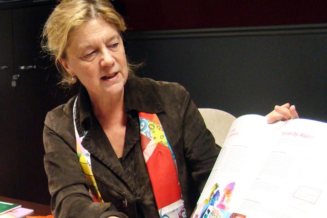 Entrevista a Reinhilde Alaert, Marketing Product Manager Sign & Display High End de Agfa Graphics