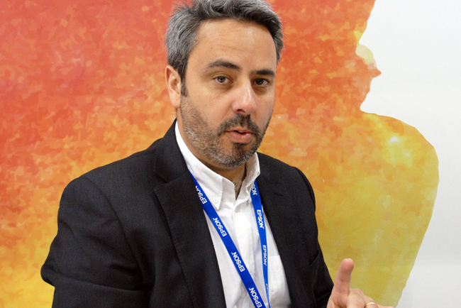 Entrevista a Óscar Visuña, nuevo Head of Business Sales de Epson Ibérica