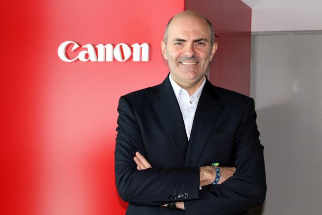 Entrevista a Francisco Calvache, Director Industrial & Production Solutions para Canon Iberia