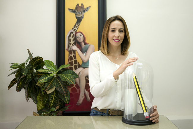 Entrevista a Ana Dubon, responsable del diseño de las aplicaciones con Coala Magnéticos en el stand de Antalis en C!Print Madrid