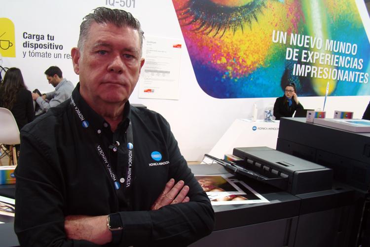 Entrevista a Antonio Eusebio, Director de Impresión de Producción e Impresión Industrial de Konica Minolta España