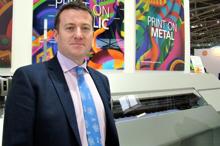 Entrevista a Graham Kennedy, responsable de impresión comercial e industrial inkjet en Ricoh