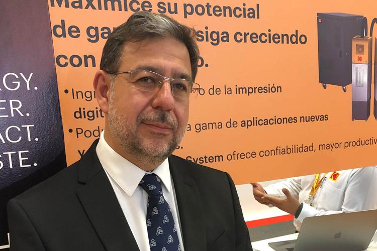 Entrevista a Luis Virgos, Regional Sales Manager de Kodak para Iberia y Latinoamérica