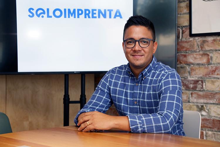 Entrevista a Andrés Barreto, Director de operaciones de Soloimprenta