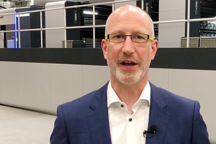 Entrevista a Oliver Baar, Product Manager de la división de corrugated de Koenig & Bauer Durst