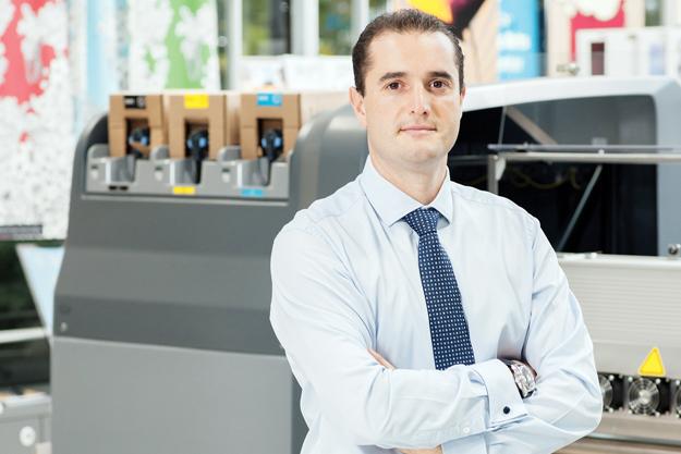 Entrevista a Oscar Vidal, Director de negocio para el Sur de Europa de la línea de productos HP Sign and Display de produccion