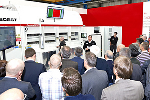 A great success at K 2013: the innovative solutions and services offered by BOBST for the production of flexible packagings
