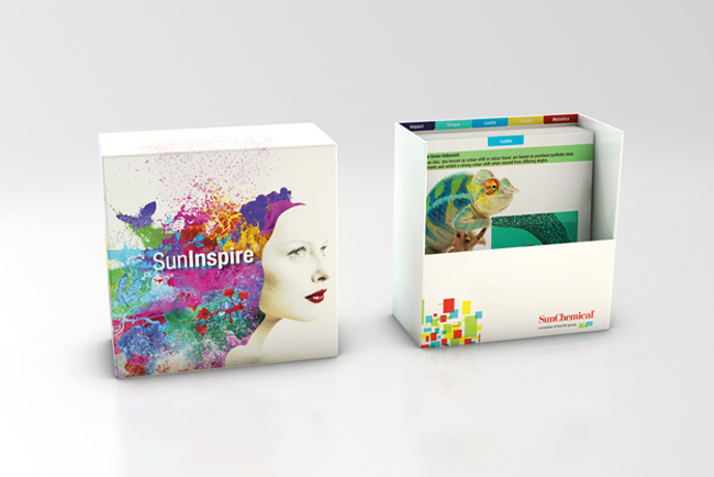 Sun Chemical Shows Brands How to Stand Out with SunInspire Samples Box