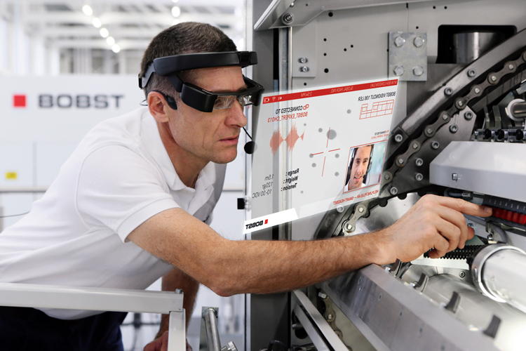 BOBST launches innovative augmented reality customer assistance service