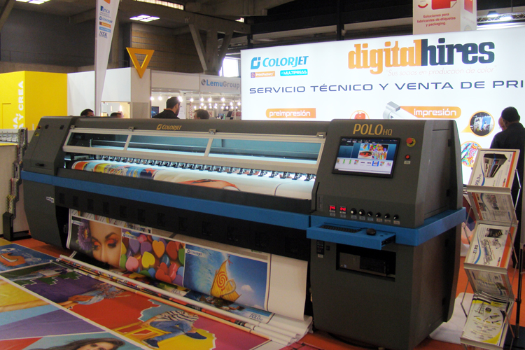 Digital Hires con Print Factory y Multipress en Fespa 2019