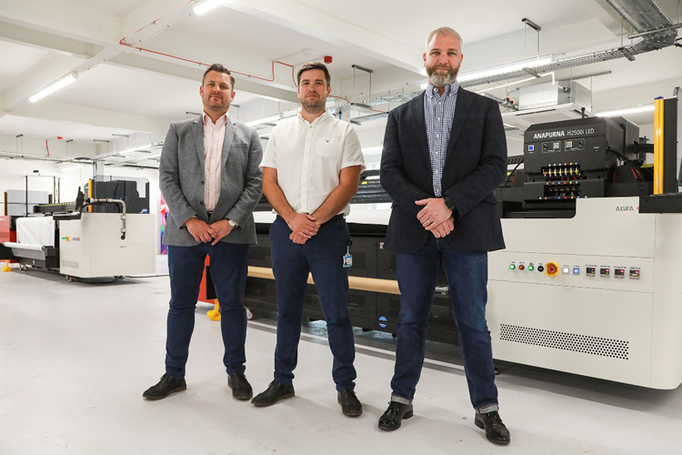 New Agfa engines ensure increased orders are satisfied at Solopress