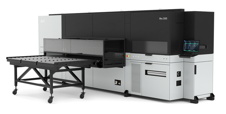 Durst launches Rho 2500 modular series at PRINTING United and debuts P5 350 in North America
