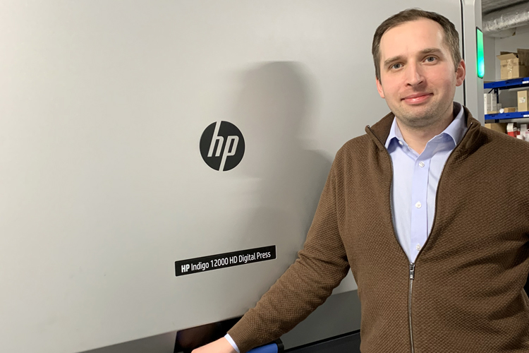 Eurographic Group installs HP Indigo 12000HD B2 press to stay competitive against offset printers in Poland