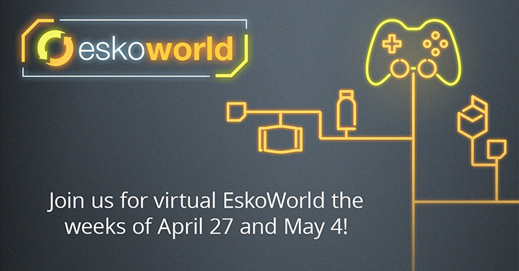 EskoWorld se vuelve virtual en 2020
