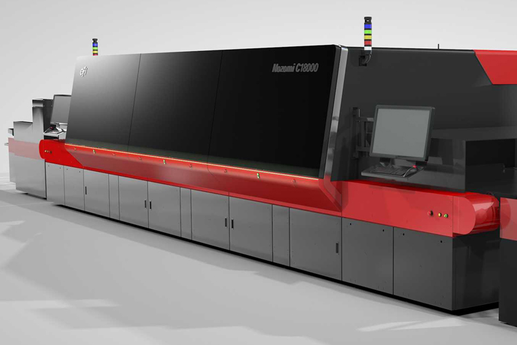 Innovative Polish Company Moves Business Core to Corrugated Digital Printing with EFI Nozomi C18000