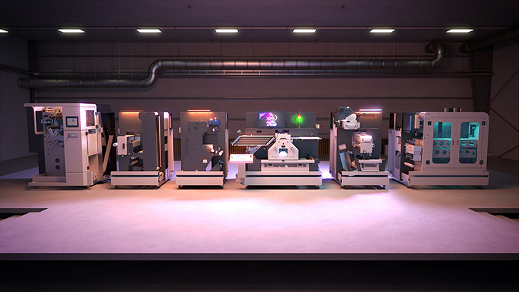 AB Graphic International to provide automated high-speed finishing for new HP Indigo V12 Digital Press