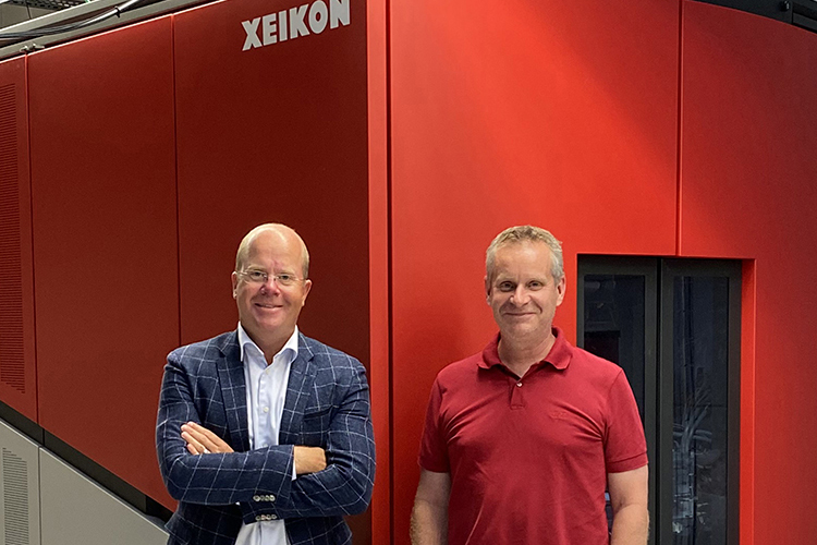 The modularity of Xeikon's Cheetah 2.0 series made it an obvious decision for Interket Group to invest in the new Xeikon CX300