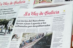 La Voz de Galicia duplica su producción de planchas con la incorporación de tres CTPs KODAK GENERATION NEWS