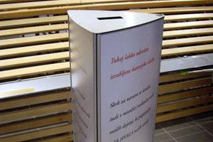 Vista System continúa sus esfuerzos para proteger el medio ambiente con su nuevo cesto para pilas usadas
