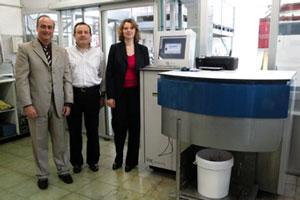 GSE Dispensing's Colorsat para Santorromán