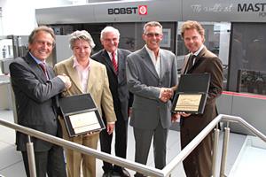 Köch & Glasder, primera instalación mundial de la BOBST MASTERFOIL 106 PR