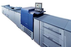 La tecnología EFI Fiery y la impresora digital Konica Minolta son la combinación ideal para los entornos de producción más exigentes
