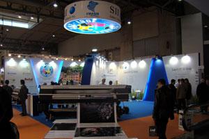 Emaser presento sus novedades en FESPA Digital 2012