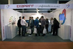 Éxito de Exaprint en Fespa Digital 2012