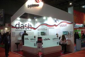 Optimus presentó en FESPA 2012 la nueva suite de módulos web de Optimus Dash