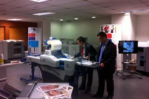 Open House entre Océ y OPQ Systems en Madrid