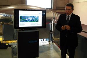 FESTO presentó sus últimas novedades en Hispack 2012