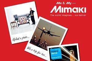 Diversión con Mimaki en FESPA 2013