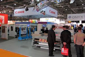 Canon impulsa a los negocios de gran formato en FESPA 2013