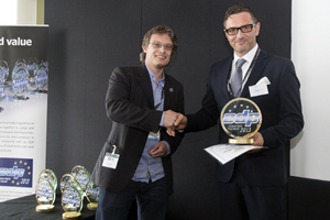 La Durst Rho P10 250 gana el premio EDP en  FESPA 2013