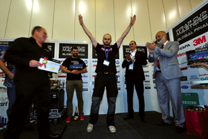 Coronación del Global Wrap Cup Master en FESPA 2013