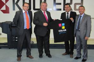 KYOCERA firma un acuerdo con Color Plus para la comercialización de sus equipos Ecosys