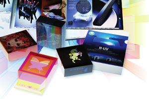 H-UV de Komori, innovadora tecnología para el packaging