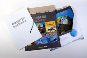 Calendario de lujo para recaudar fondos para la conservación de las especies
