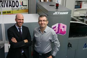 Truyol Digital revoluciona el mercado con los acabados 3D con su nueva MGI JETvarnish 3D