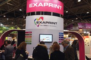 Exaprint presenta novedades en C!Print Lyon