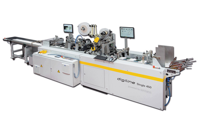 Debut mundial en Interpack del sistema independiente DIGILINE Single 450