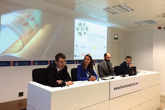 """Navarra presenta el cluster de Impresión Funcional """"Functional Print"""""""
