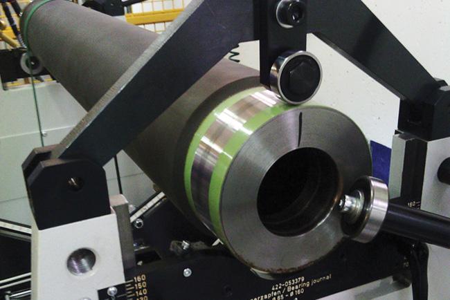 Martin Westland instala una nueva máquina de equilibrado de ejes