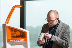 Un estudio creativo imprime una mini metrópolis con la impresora 3D de Roland DG