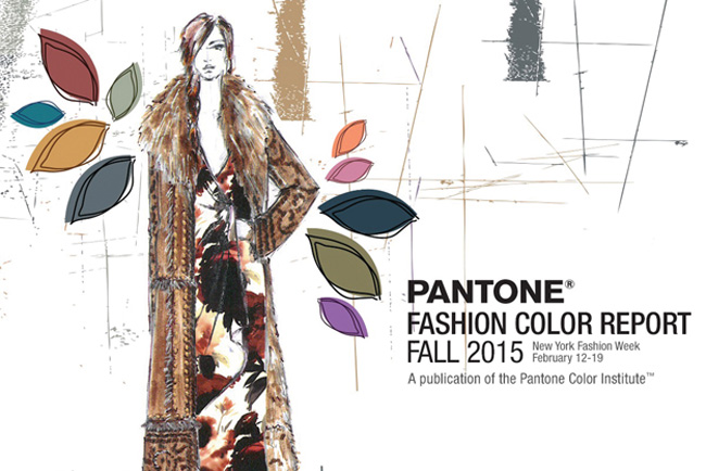 Pantone anuncia el Informe del Color para el otoño 2015