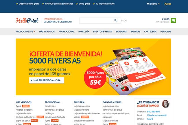 Helloprint desembarca en España para desatar la locura por la impresión