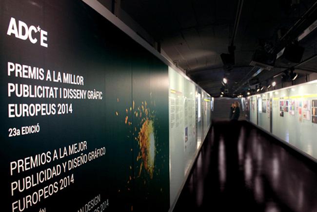 La mejor creatividad europea en publicidad y diseño se expone en el metro de Barcelona