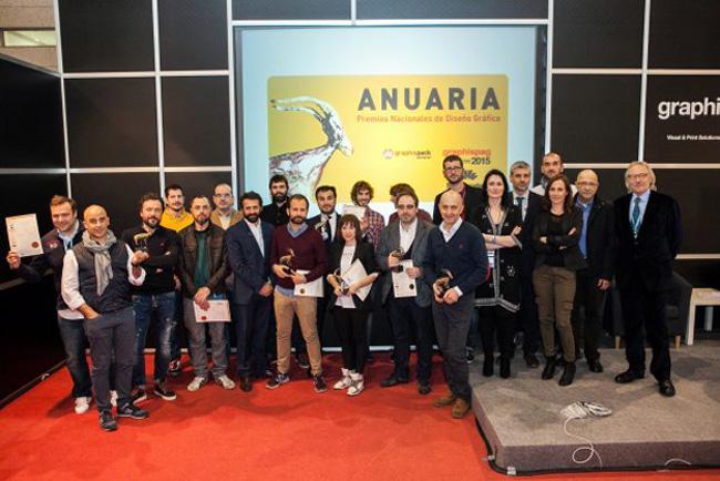 Los Anuaria conceden 17 galardones de Oro a las mejores obras de diseño gráfico del año