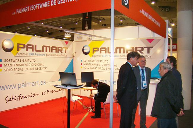 Palmart presentó en Graphispag el primer software de gestión en modelo freeware