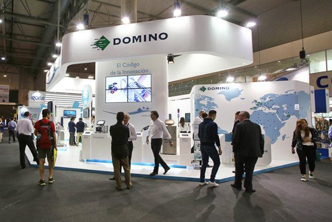 Domino consolida su liderazgo en Hispack 2015
